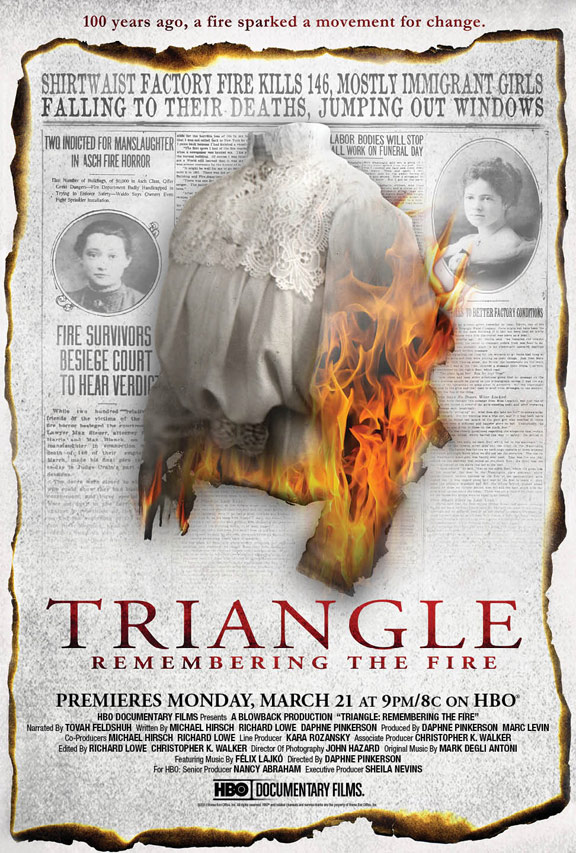 Triangle: Remembering the Fire Poster #1