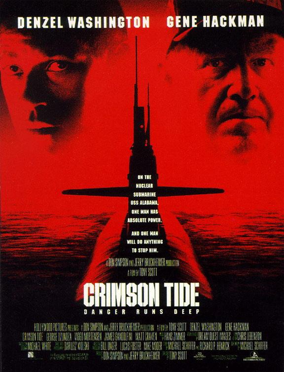 Crimson Tide Poster #1