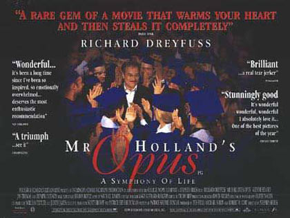 Mr. Holland's Opus Poster #3