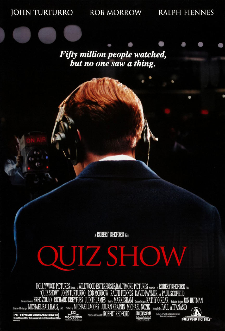 Quiz Show Poster #1