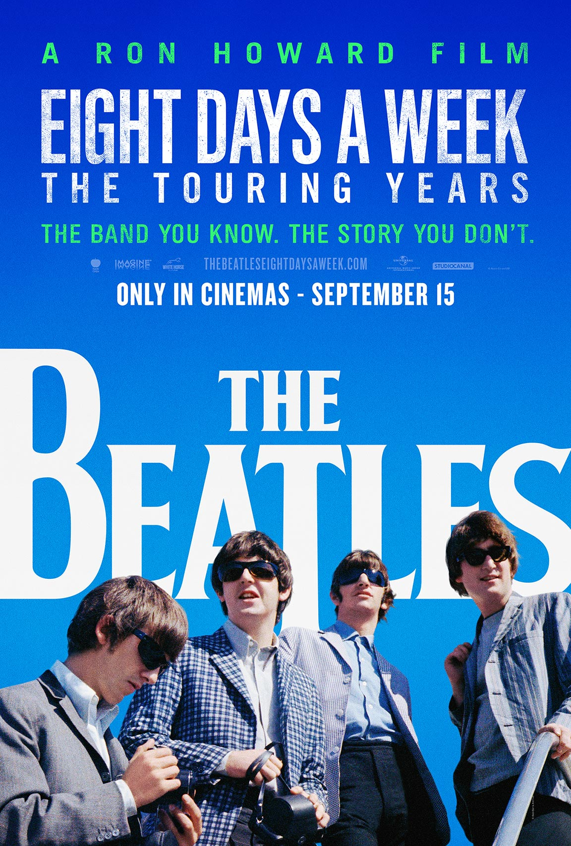 The Beatles: Eight Days a Week (2016) Poster #1 - Trailer ...