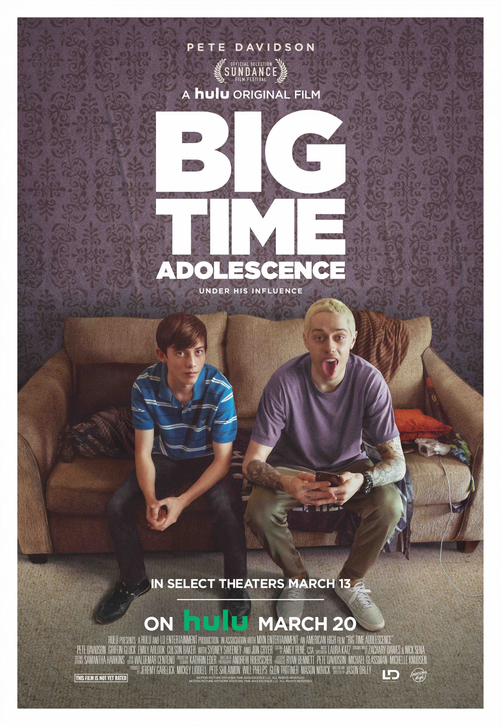 Big Time Adolescence Poster #1