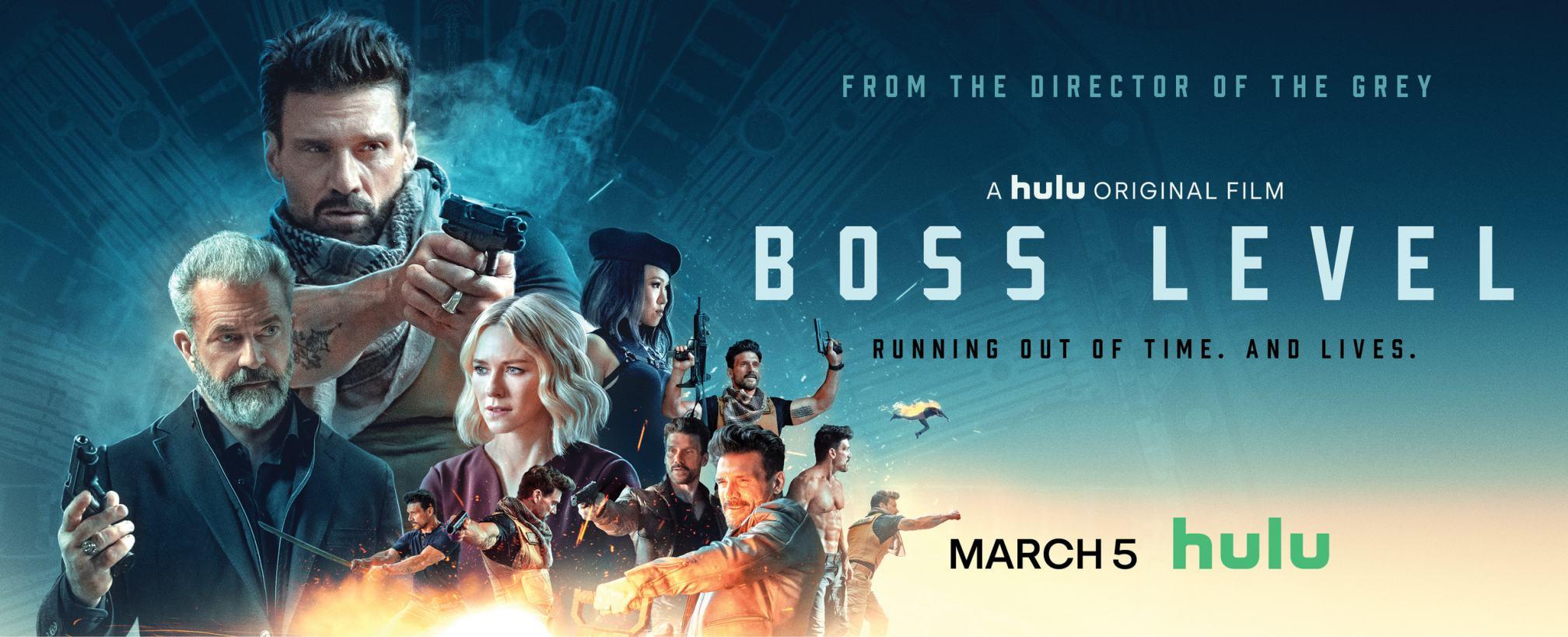 Boss Level Poster #1