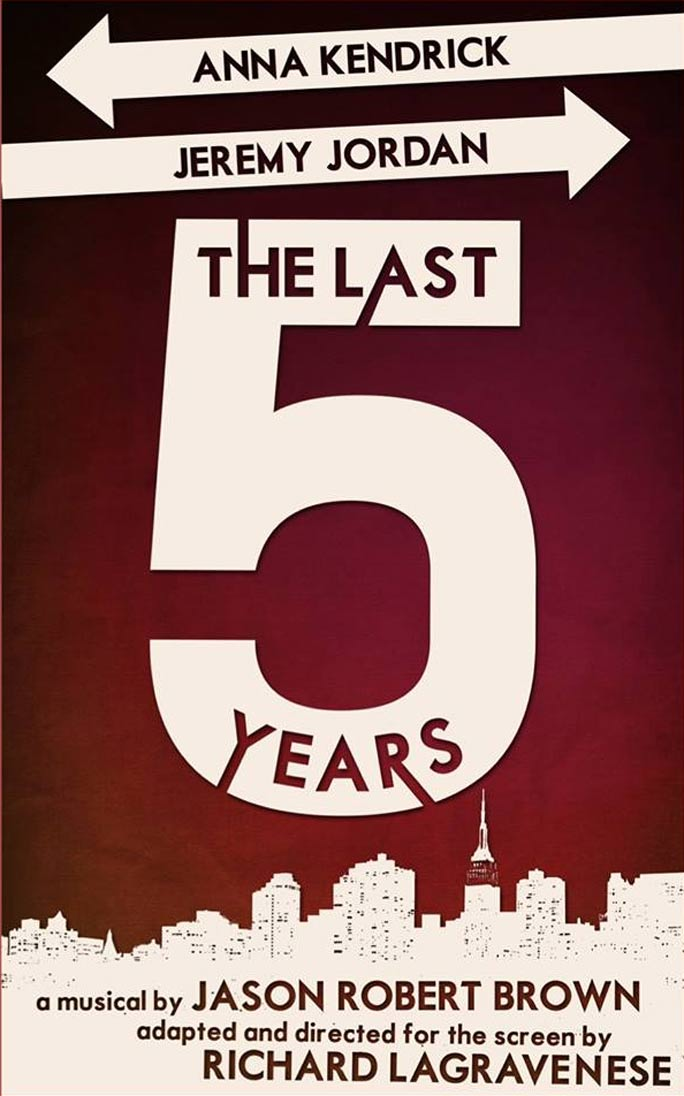 The Last 5 Years Poster #1