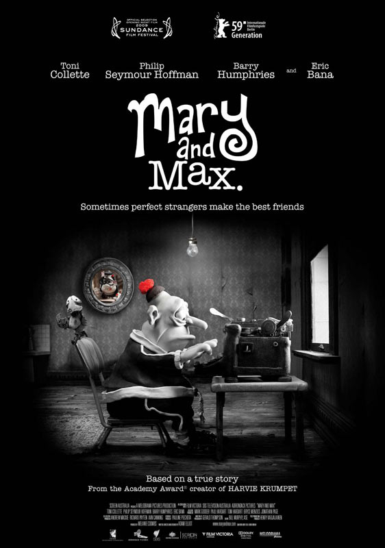 Mary and Max Poster #1