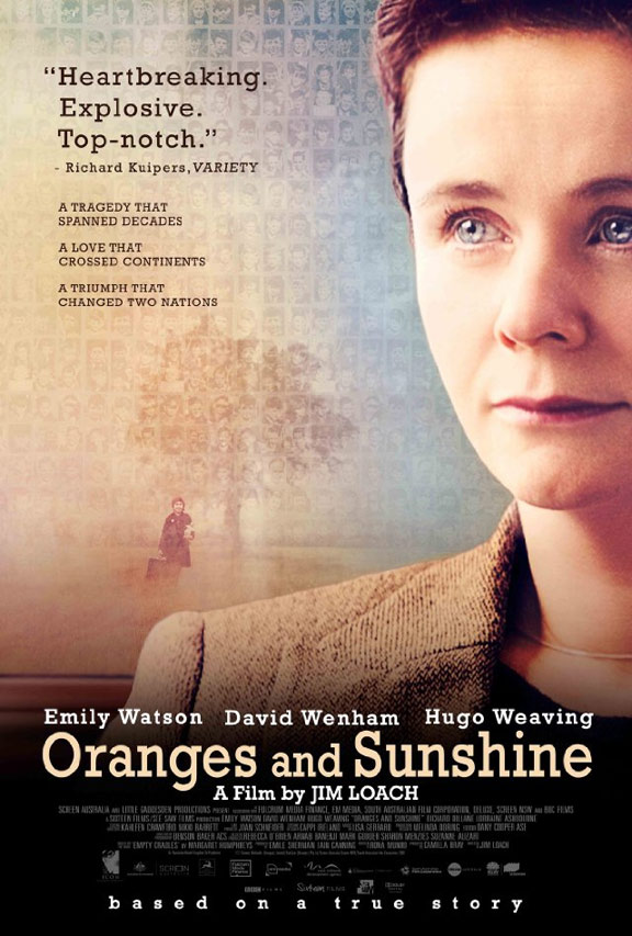 Oranges and Sunshine Poster #1