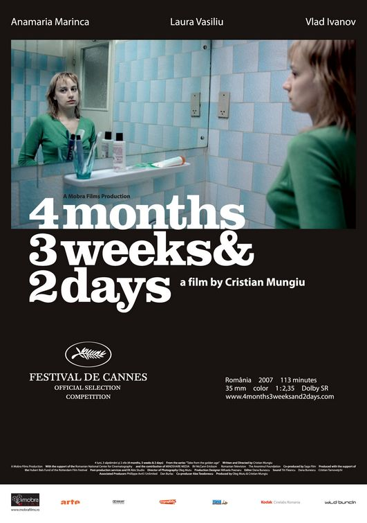 4 Months, 3 Weeks and 2 Days Poster #1