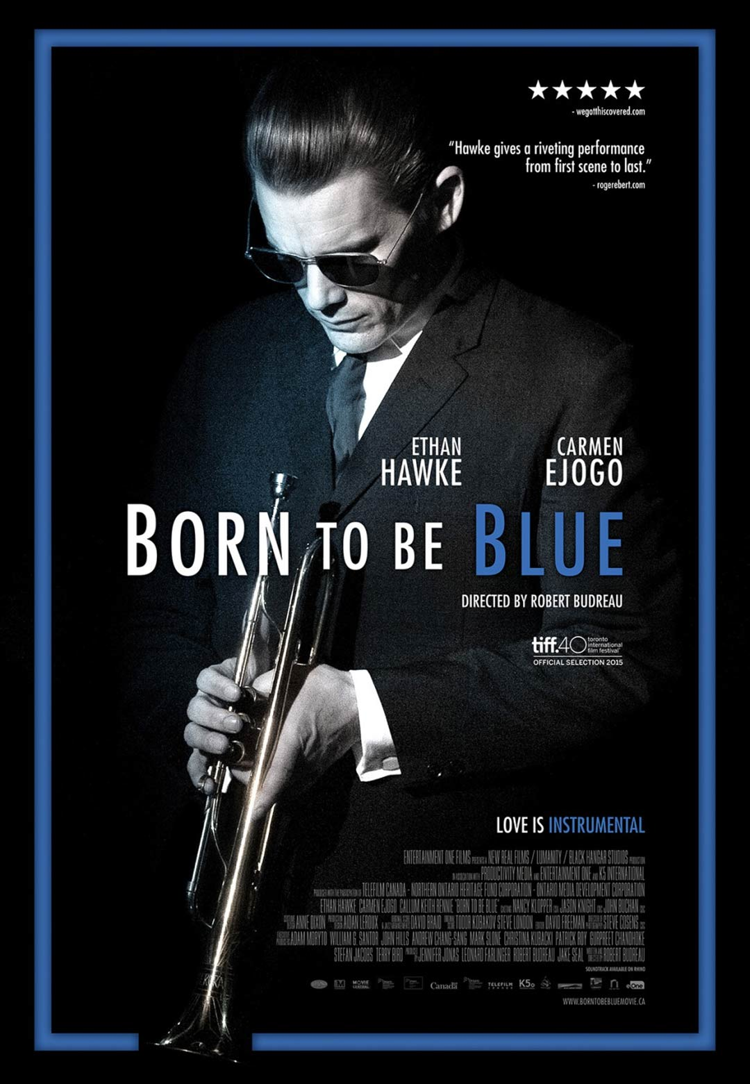 Born to Be Blue Poster #1