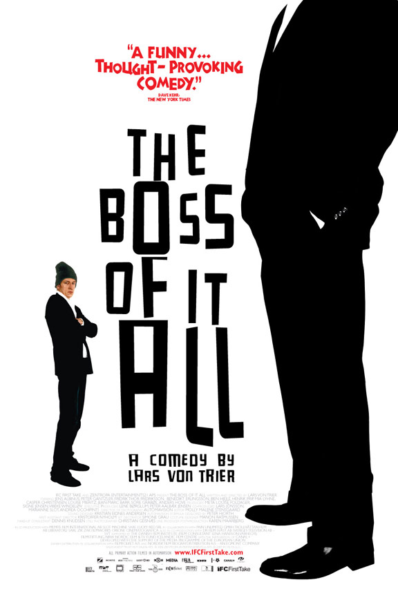 The Boss of It All Poster #1