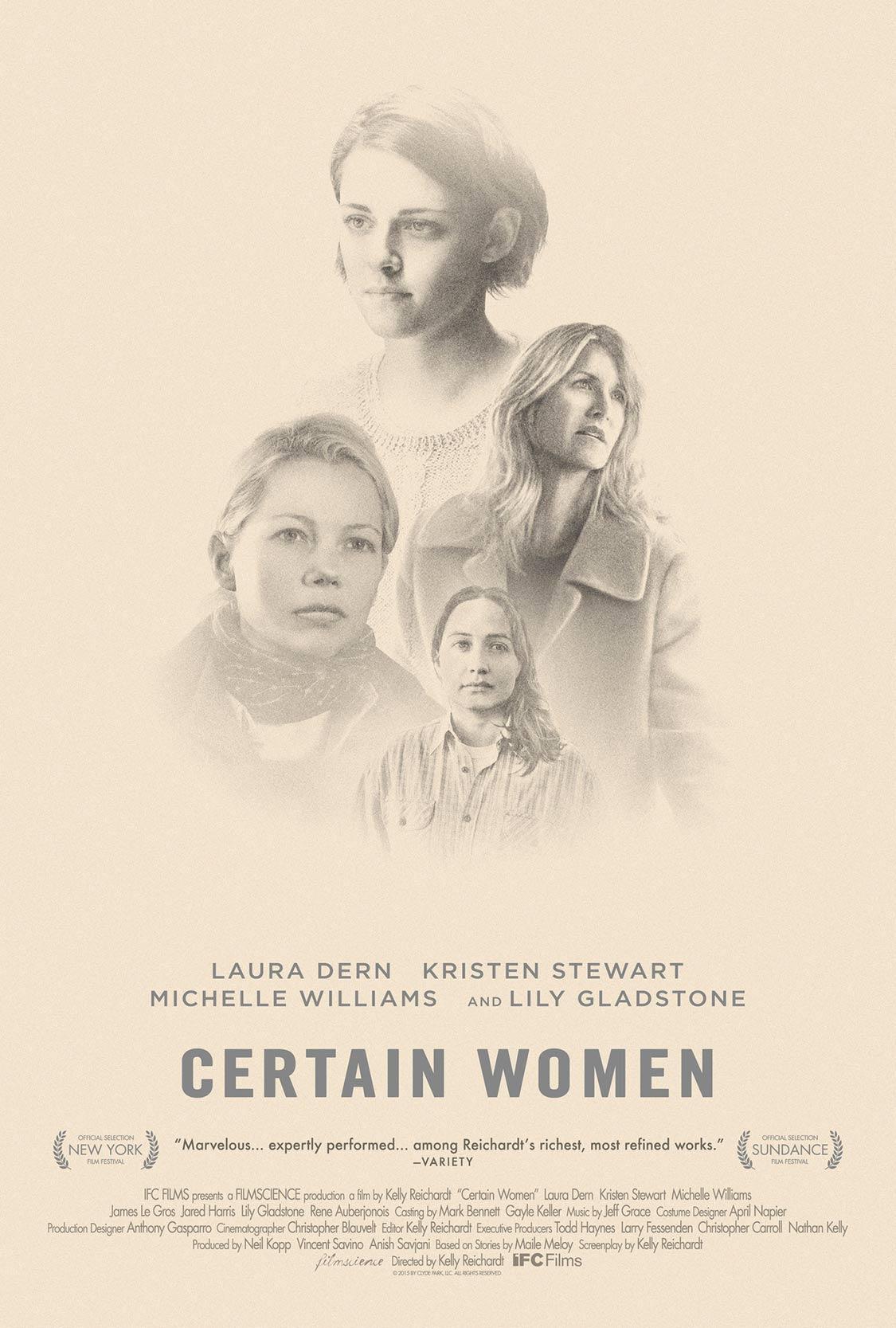 Certain Women Poster #1