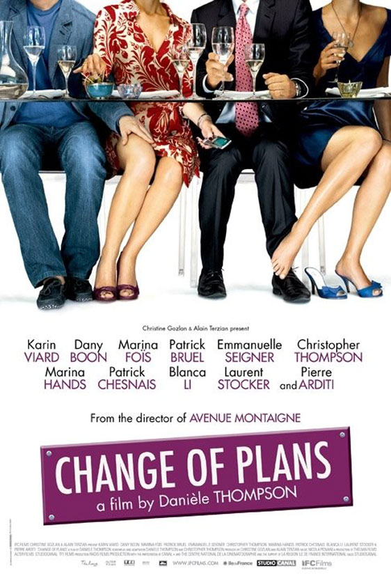 Change of Plans Poster #1