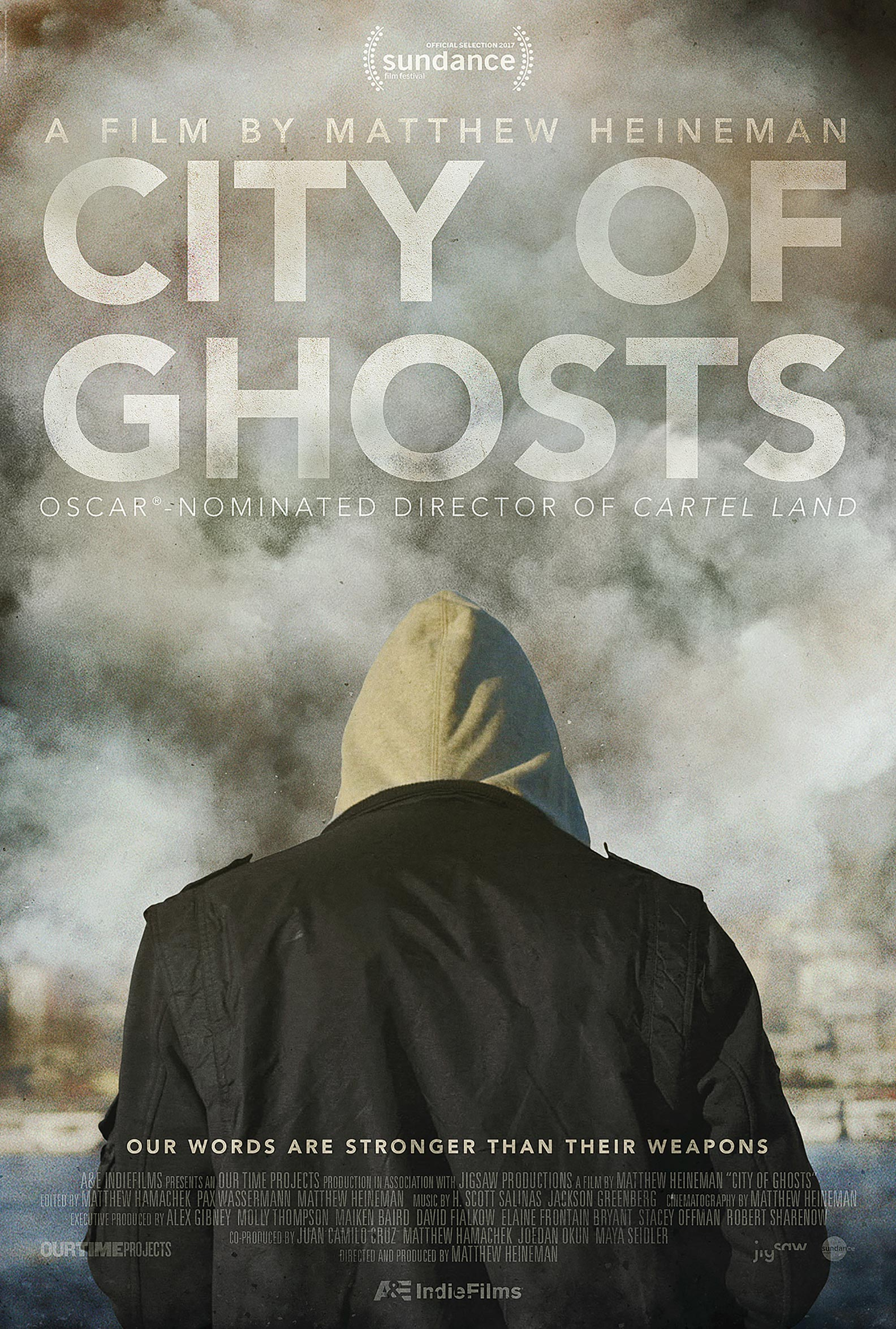 City of Ghosts Poster #1