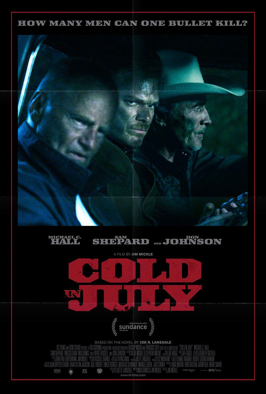 Cold in July Poster #2