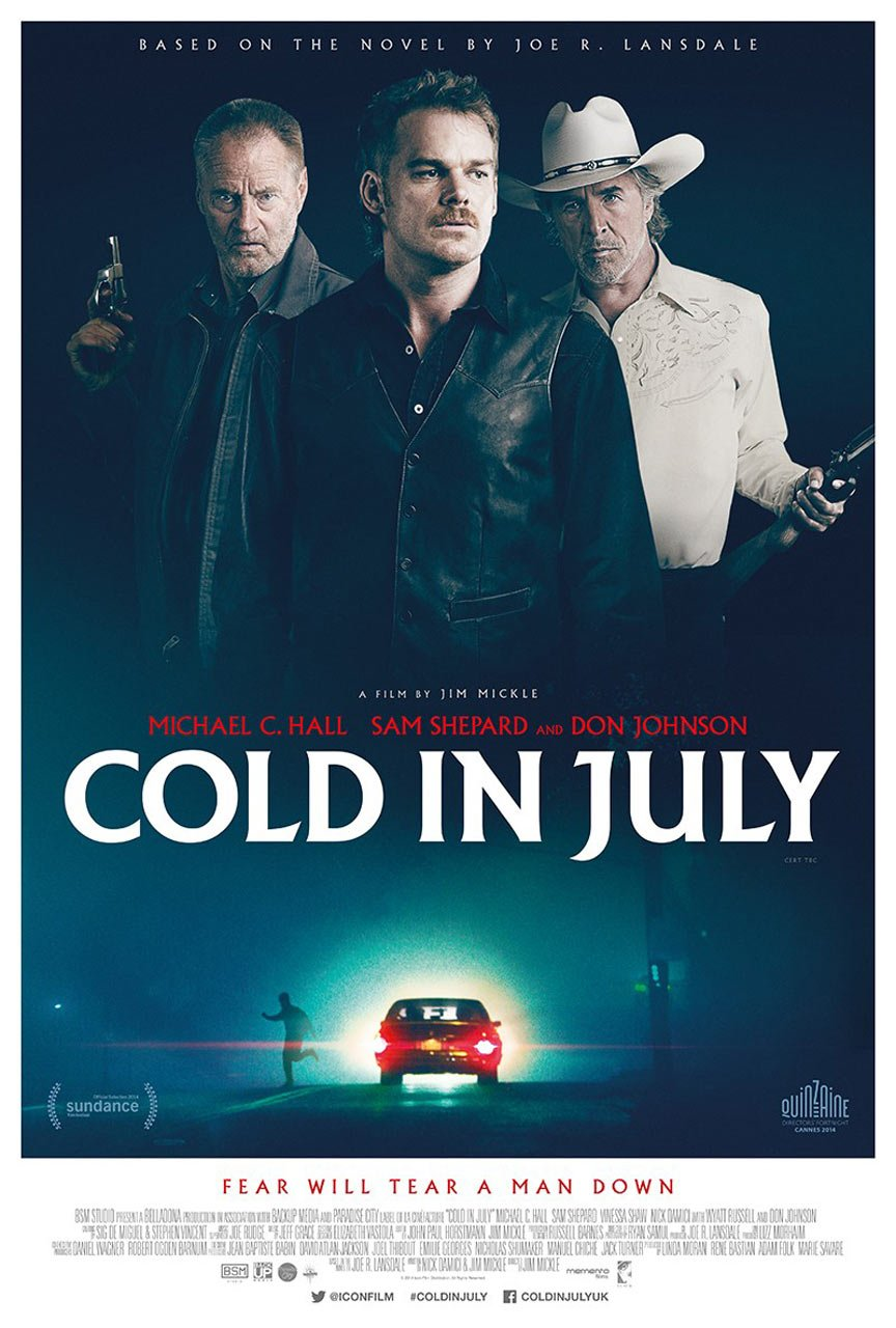 Cold in July Poster #3