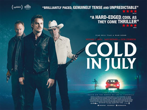Cold in July Poster #4