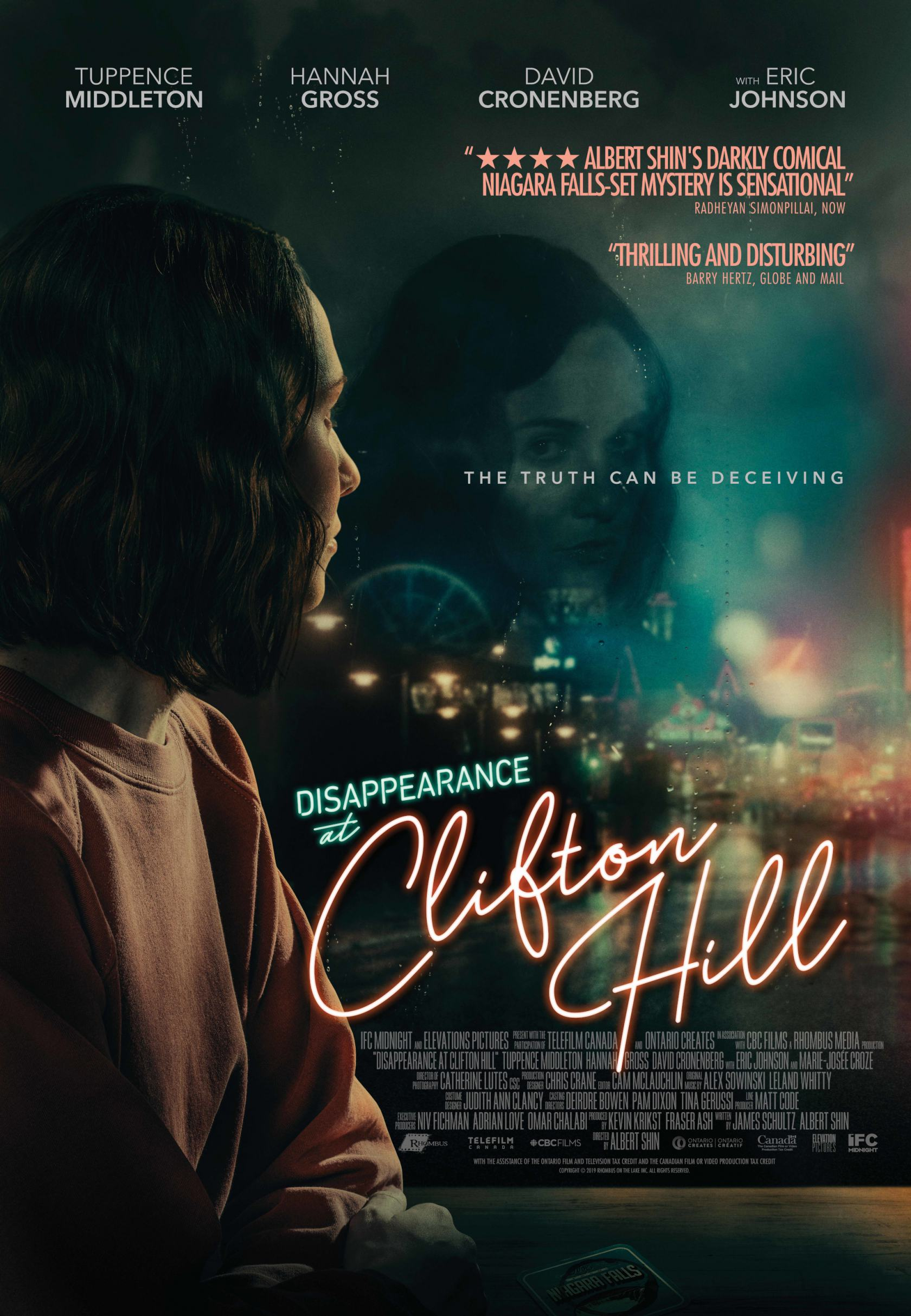 Disappearance at Clifton Hill Poster #1