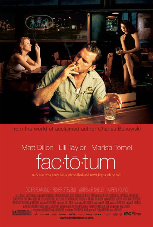 Factotum Poster #1
