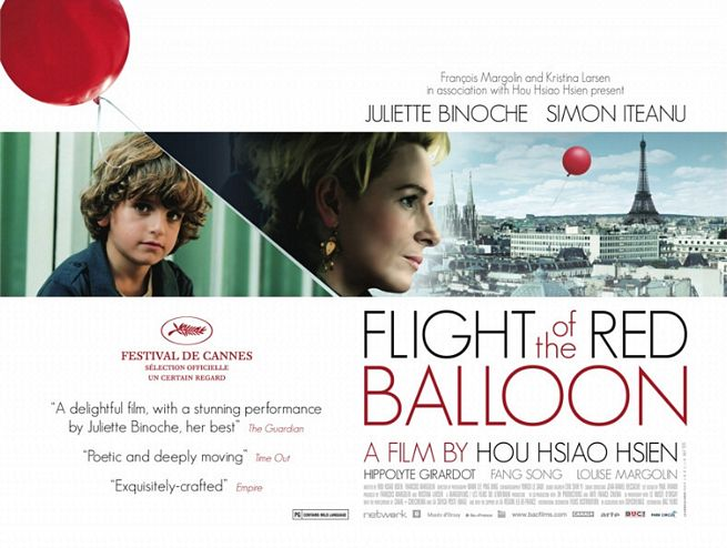 The Flight of the Red Balloon Poster #1