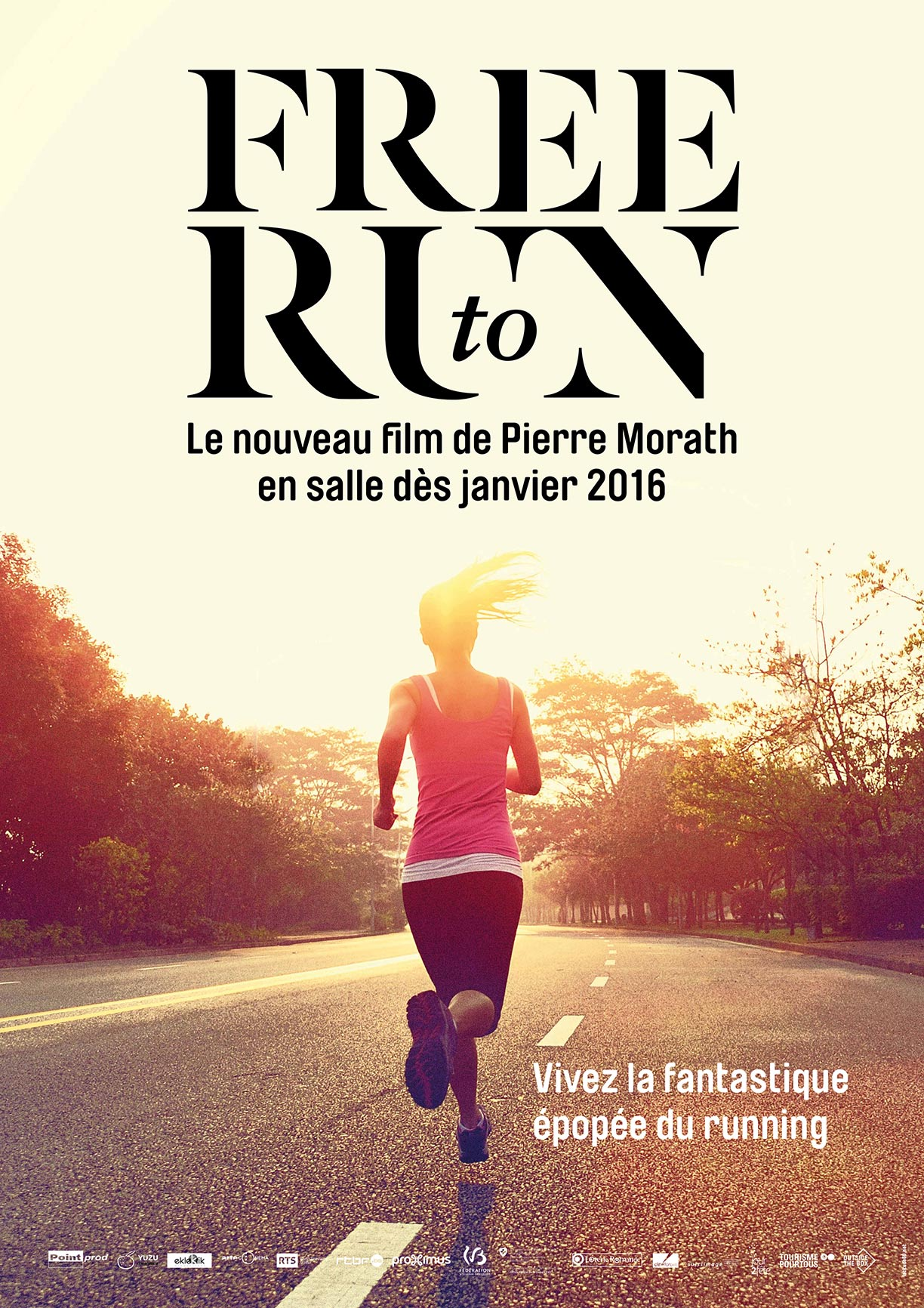 Free to Run Poster #1