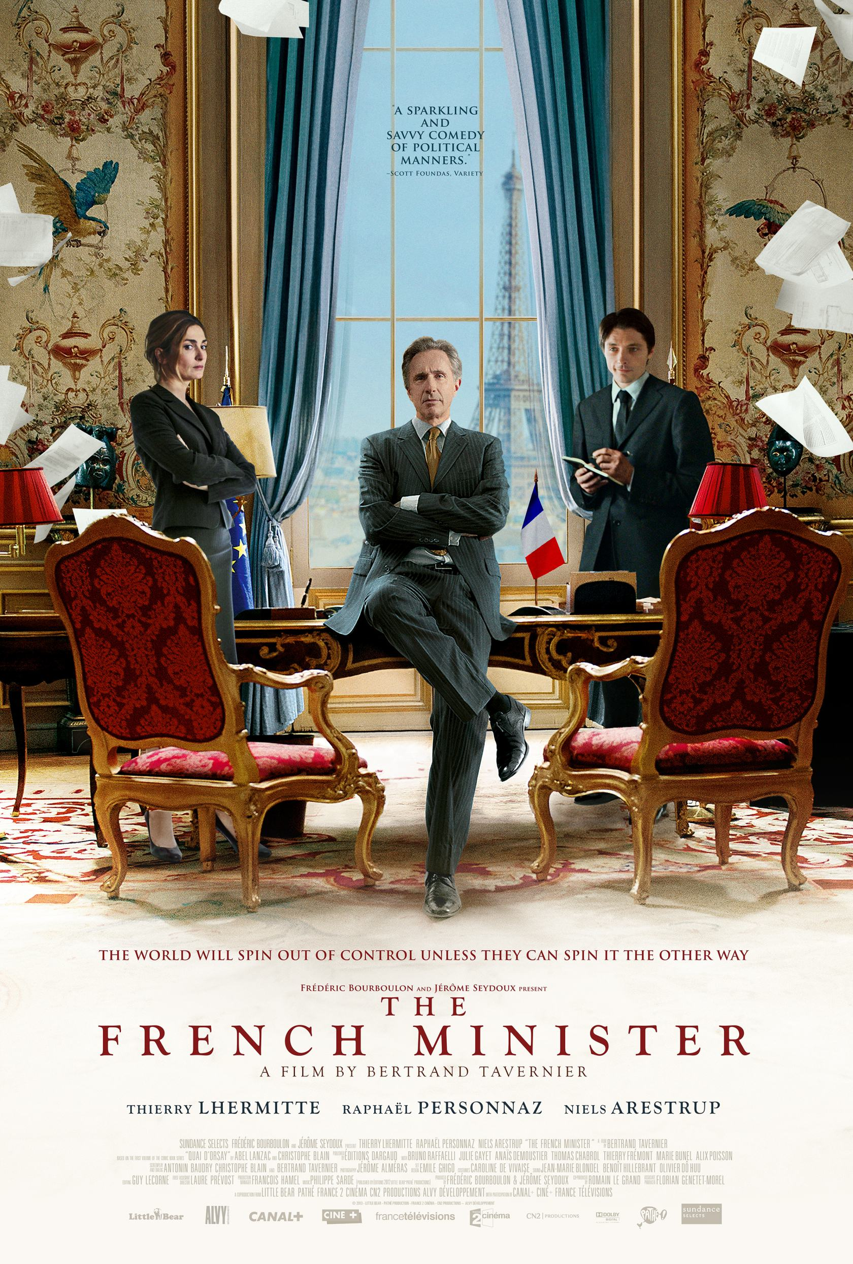 The French Minister Poster #1