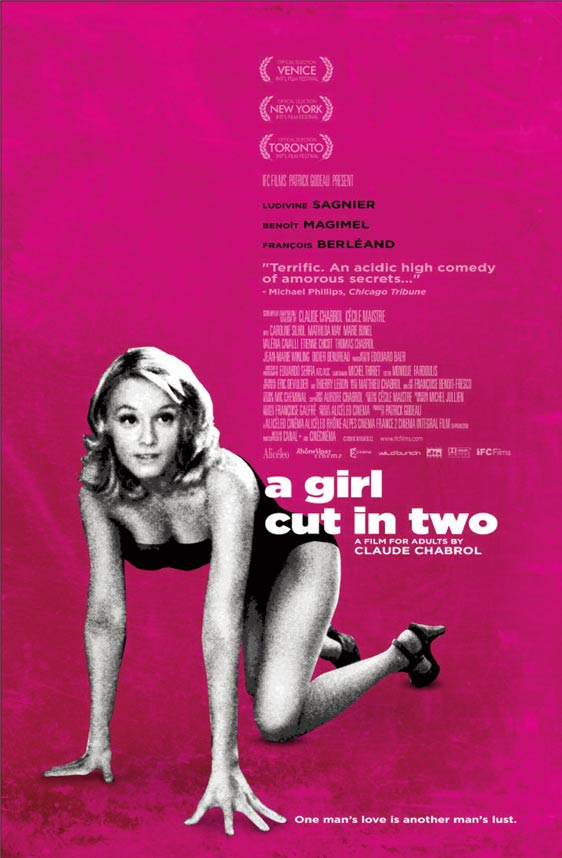 A Girl Cut in Two (La Fille coupée en deux) Poster #1