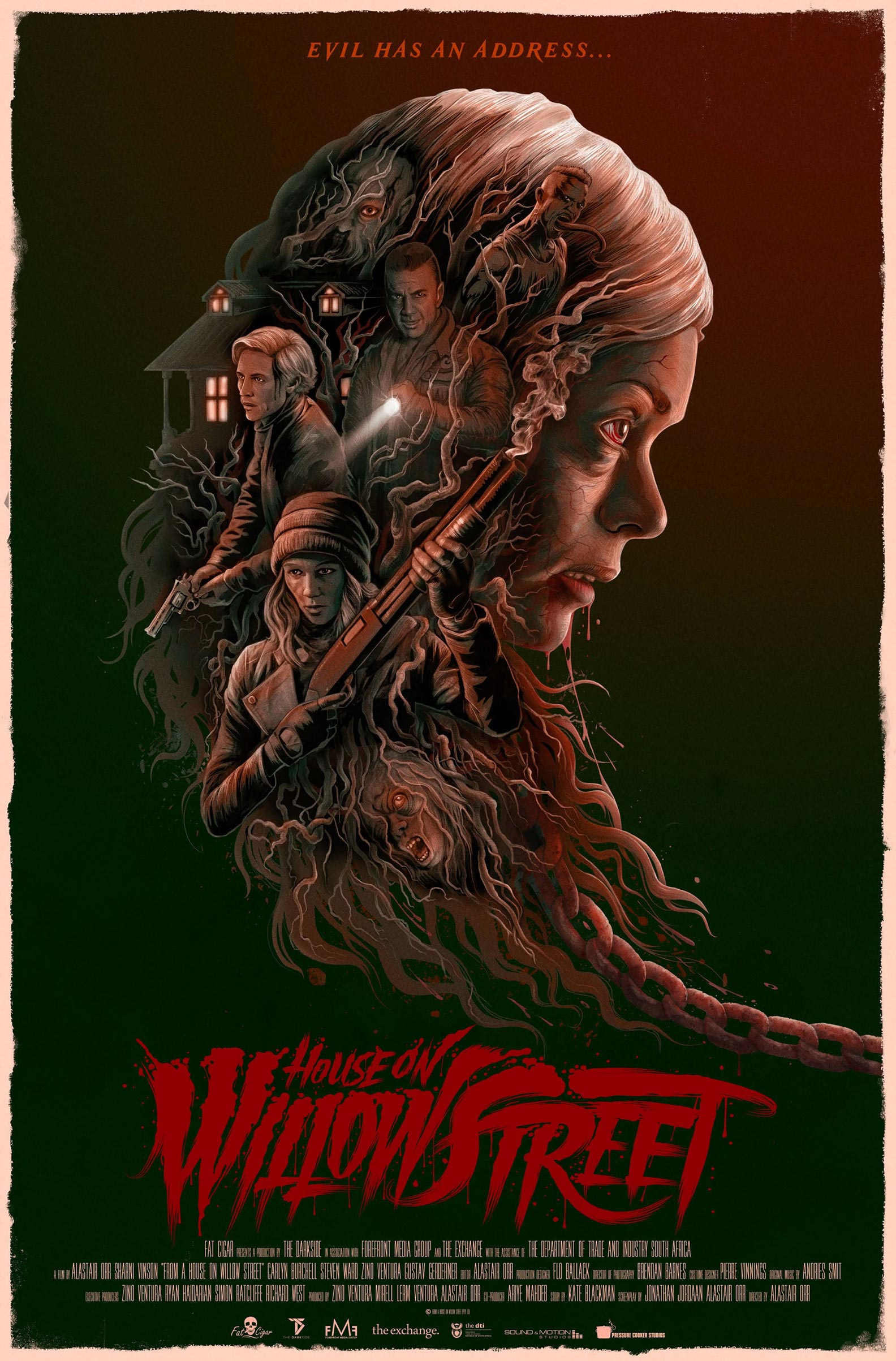 House on Willow Street Poster #1