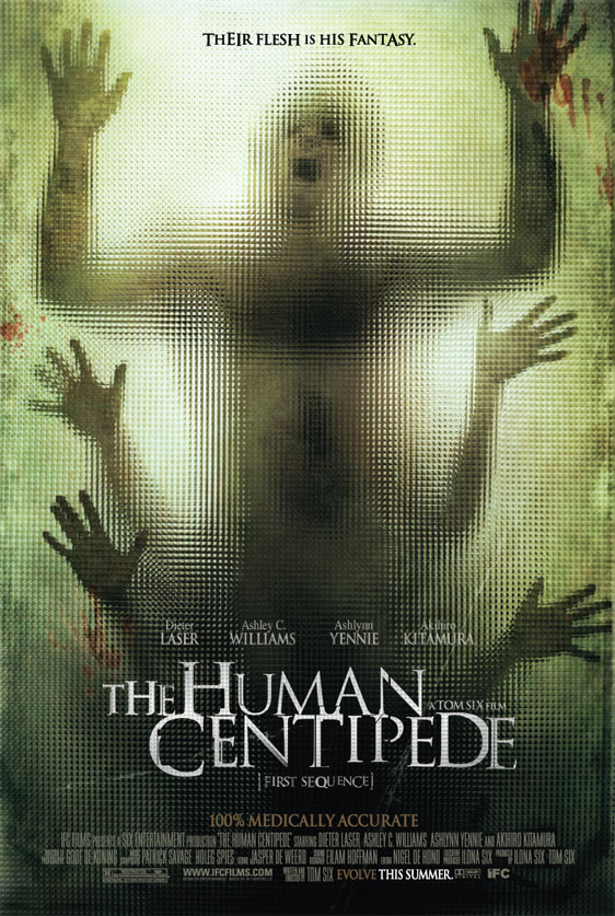 The Human Centipede Poster #2