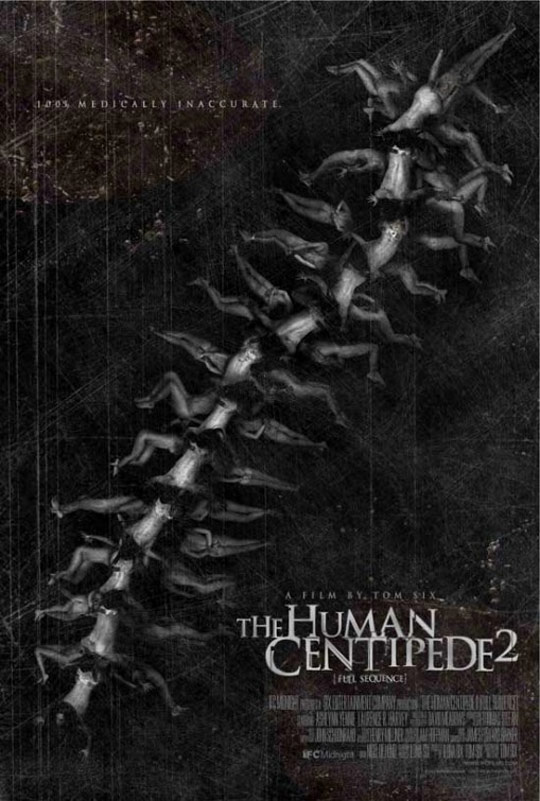 The Human Centipede II (Full Sequence) Poster #1