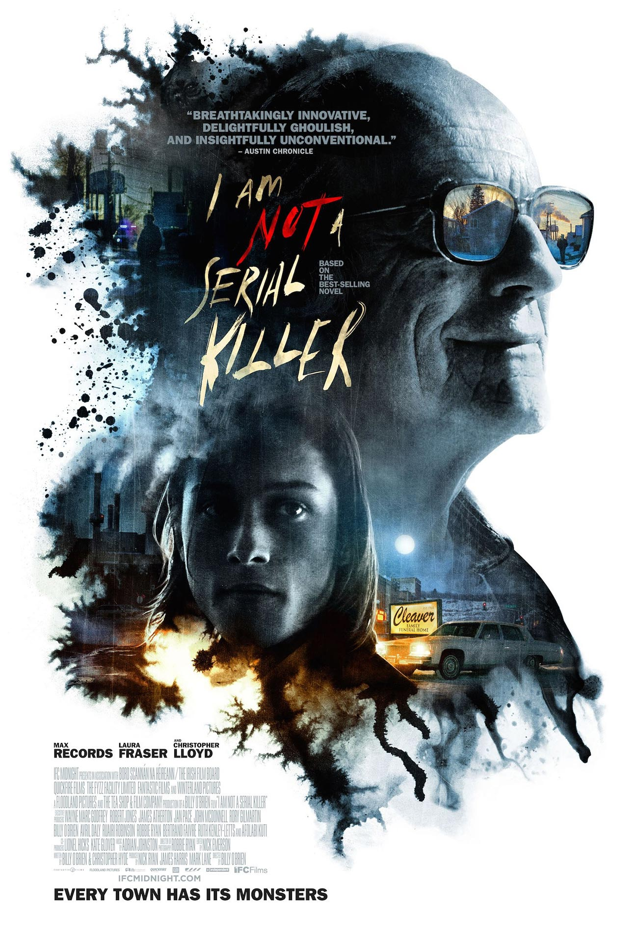 I Am Not a Serial Killer Poster #1