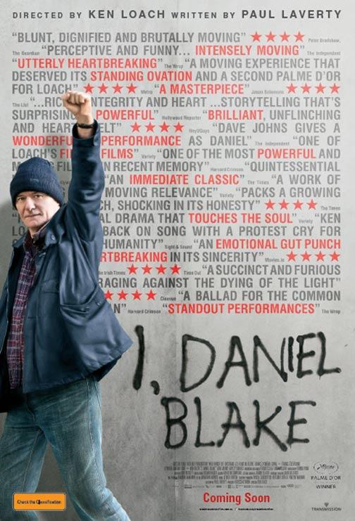 I, Daniel Blake Poster #1