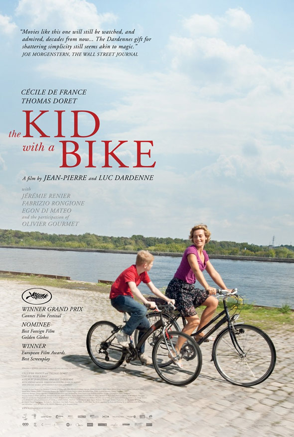 The Kid with a Bike Poster #1