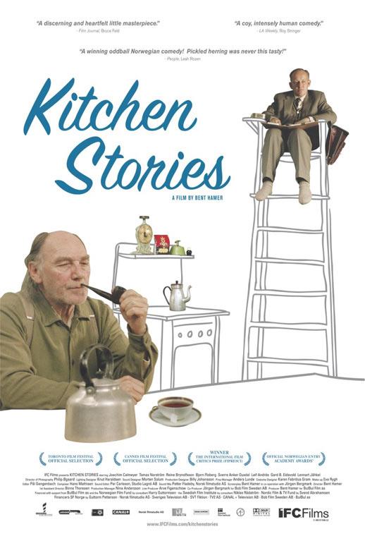Kitchen Stories Poster #1
