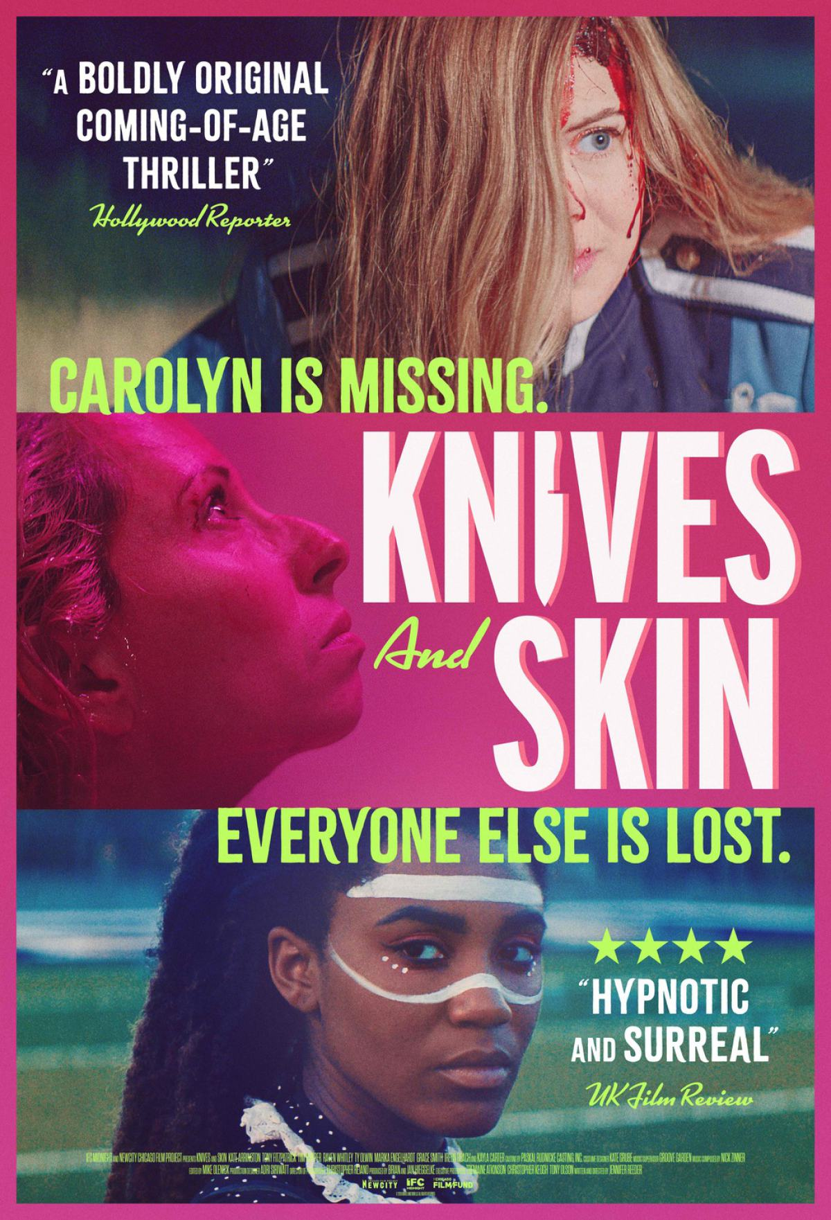 Knives and Skin Poster #1