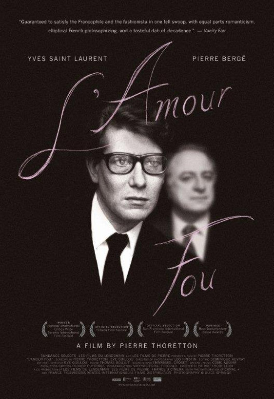 L'amour Fou Poster #1