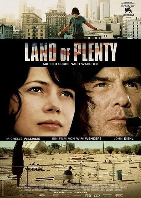 Land of Plenty Poster #1