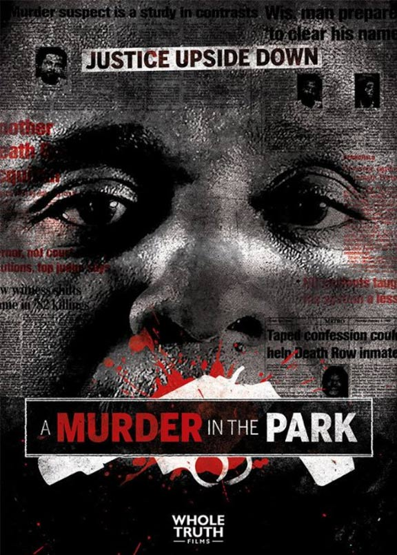 A Murder in the Park Poster #1