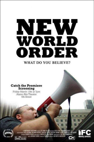 New World Order Poster #1