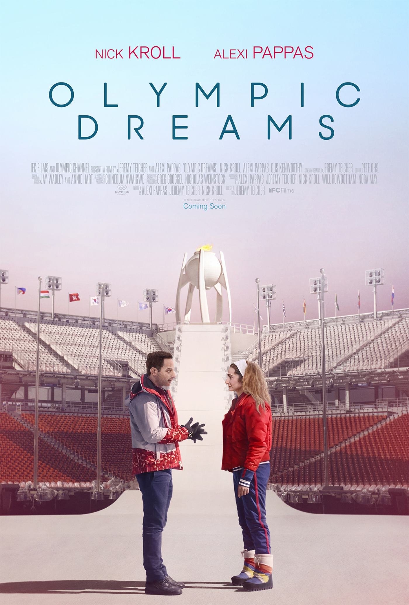 Olympic Dreams Poster #1