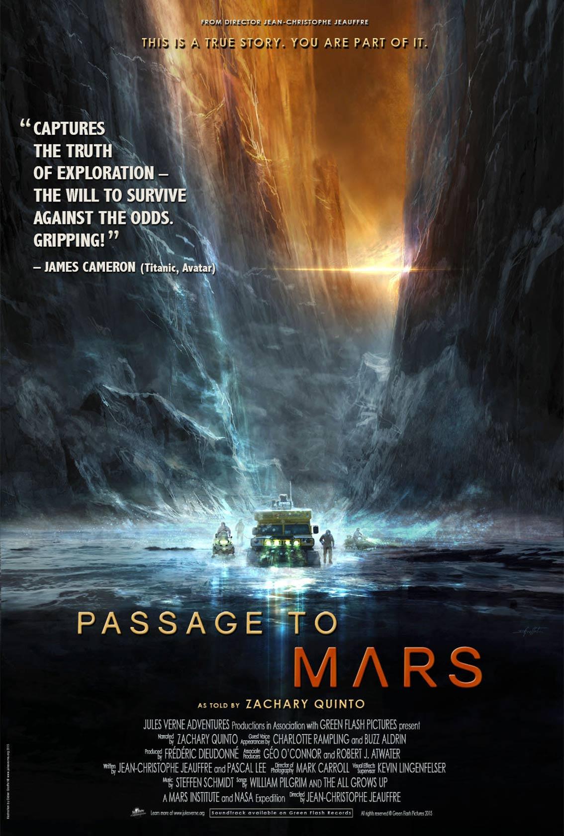 Passage to Mars Poster #1