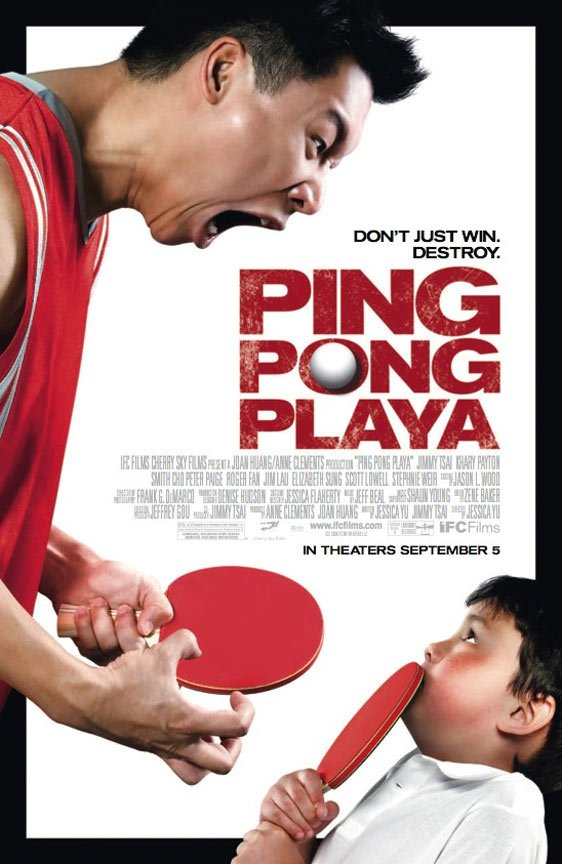 Ping Pong Playa Poster #1