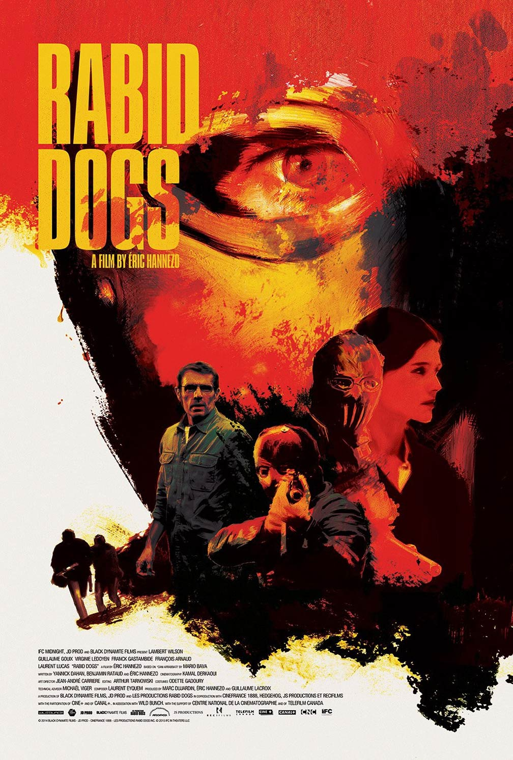 Rabid Dogs Poster #1