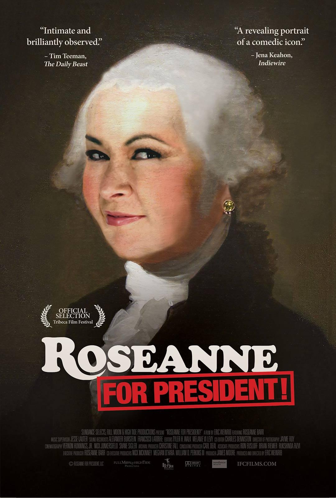 Roseanne for President! Poster #1