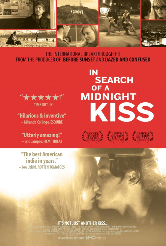 In Search of a Midnight Kiss Poster #2