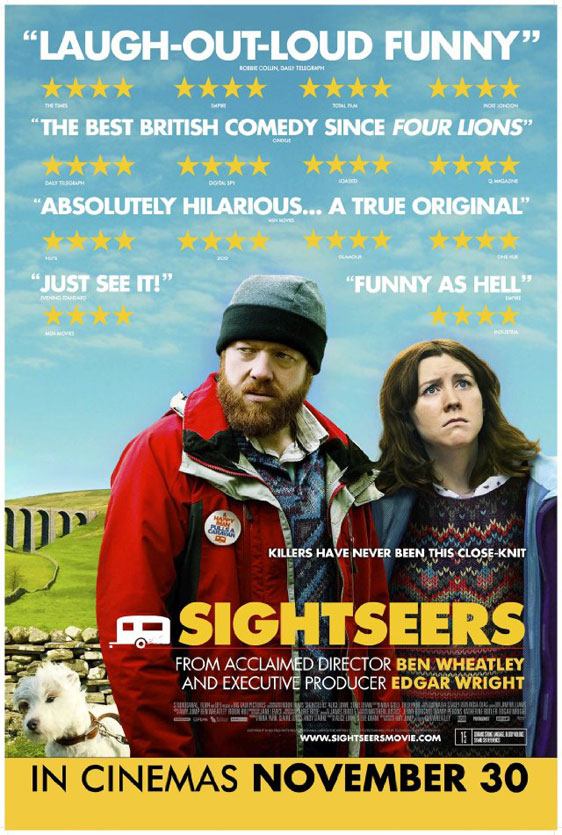 Sightseers Poster #1