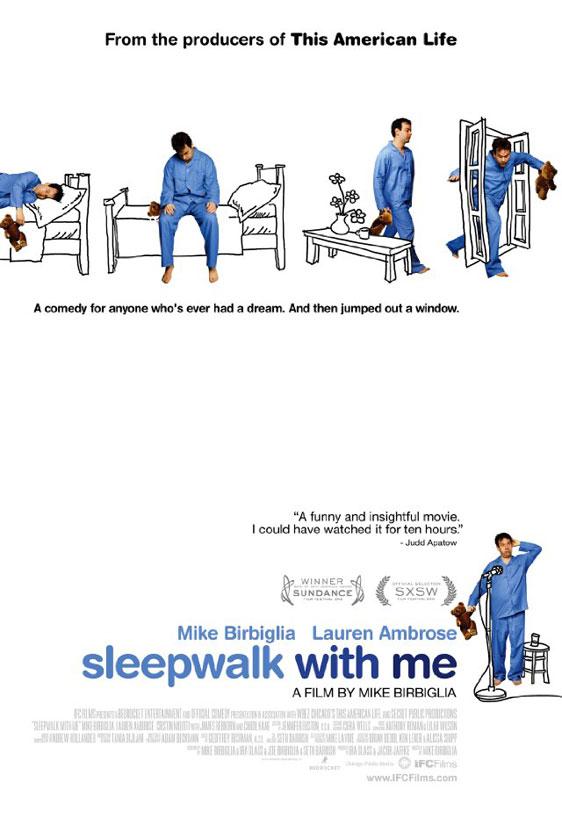 Sleepwalk With Me Poster #1
