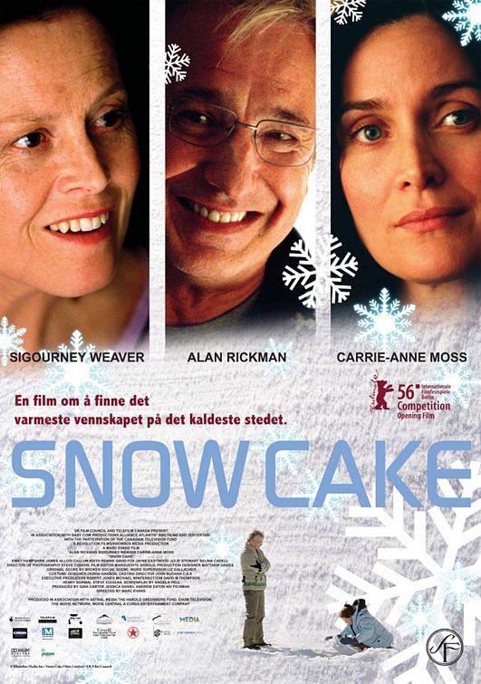 Snow Cake Poster #1