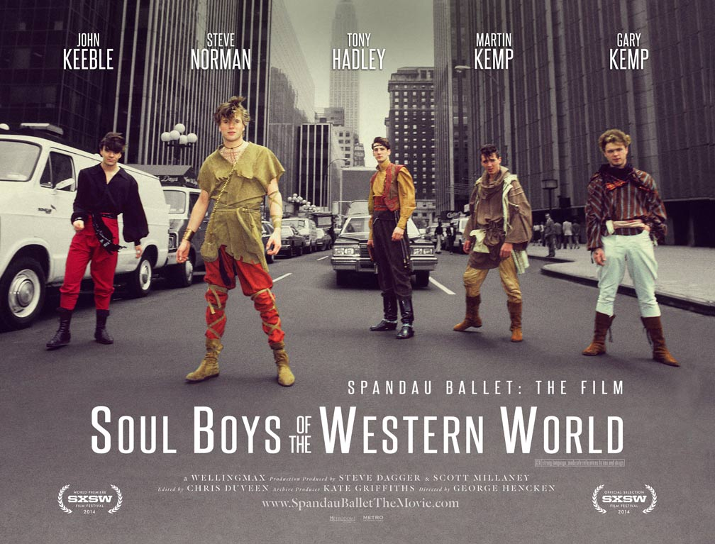 Soul Boys of the Western World Poster #1