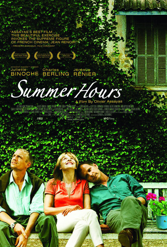 Summer Hours (L' Heure d'été) Poster #3