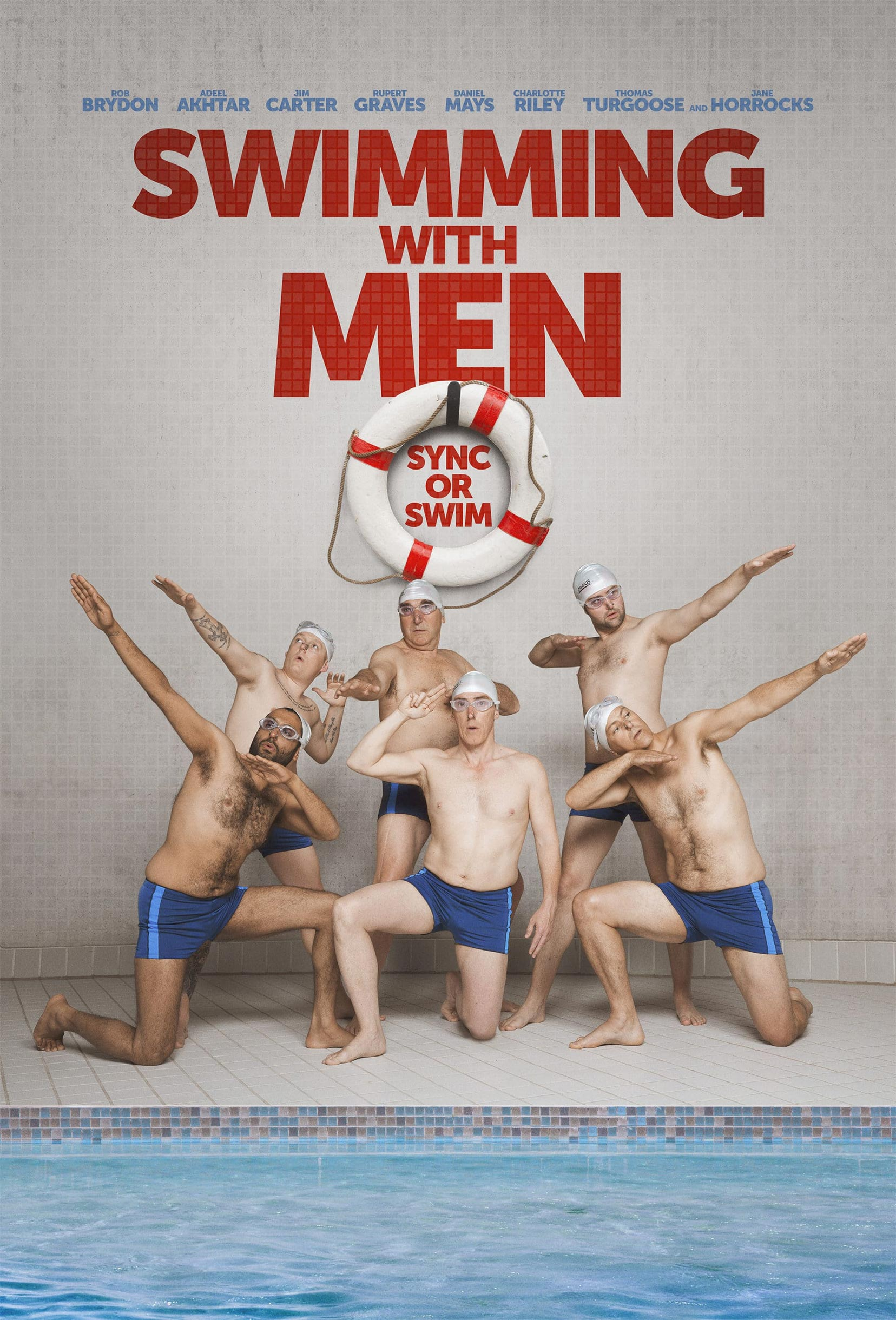 Swimming with Men Poster #1