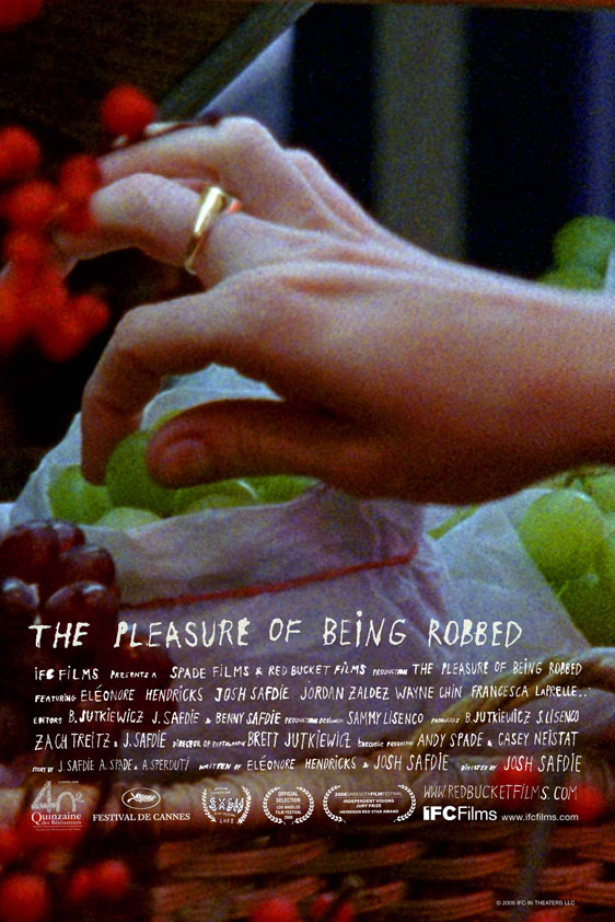 The Pleasure of Being Robbed Poster #1